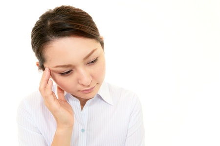 Stressed Business Woman Stock Photo - 17330901