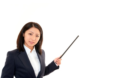 Women make a presentation Stock Photo - 17342121