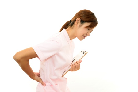 Portrait of  Asian female nurse photo
