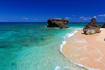 Gorgeous Beach in Summertime photo
