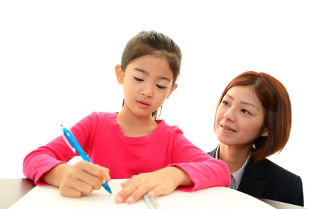 Children Studying Stock Photo - 17591079