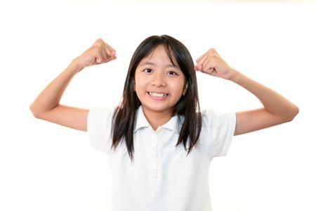 self study: Girls happy expression