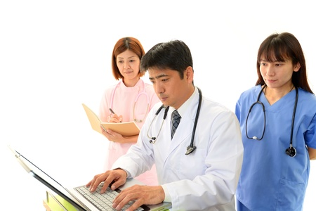 Medical staff working Stock Photo - 17884907