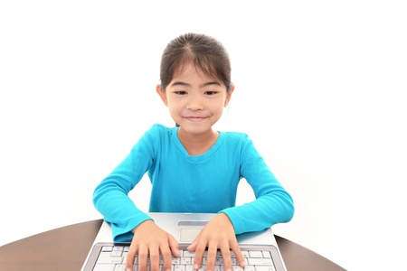 Girl With Notebook Stock Photo - 18043125