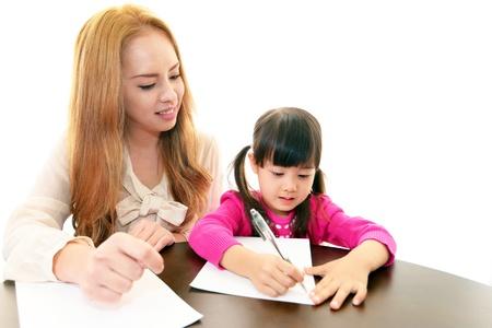 self study: The little girl who enjoys study