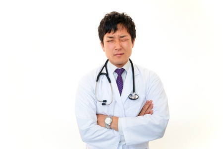 Doctor thinking Stock Photo - 18229445