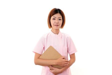 Young  Asian female nurse Stock Photo - 18475475