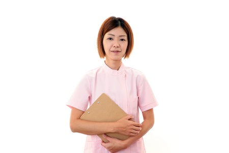 Young  Asian female nurse Stock Photo - 18475475