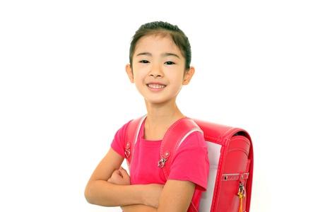 Smiling girl photo