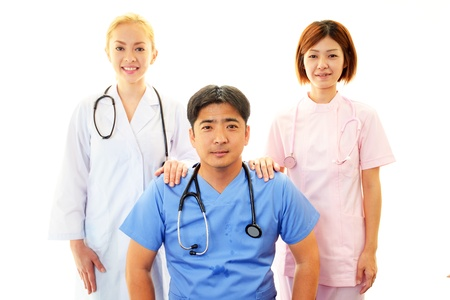 Medical staff working  Stock Photo - 18615847