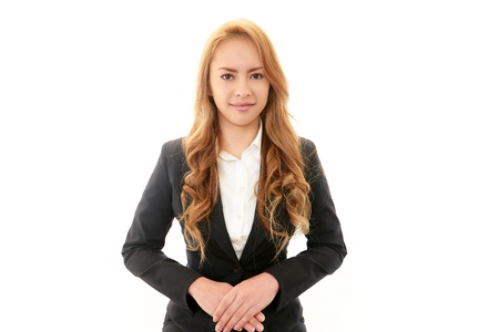 Smiling business woman Stock Photo - 18752759
