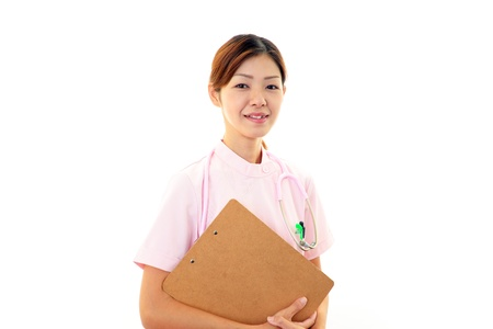 Young  Asian female nurse Stock Photo - 18786853