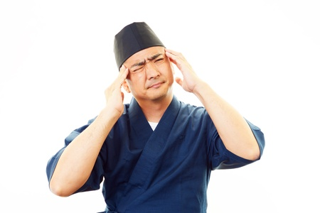 The Japanese chef who is troubled