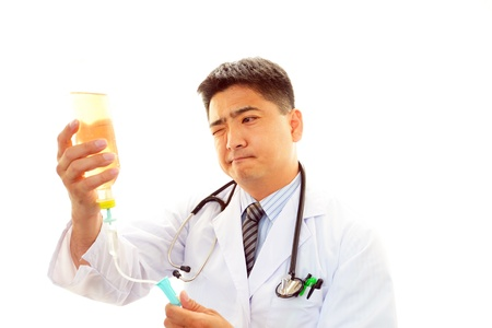 enteritis: Doctor of an earnest expression