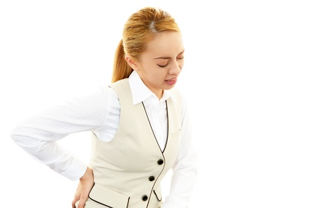 Woman Back Pain photo