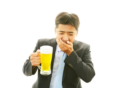 drank: The businessman who drank beer too much
