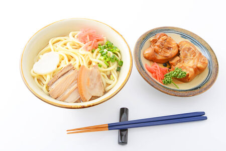 Japanese noodle photo