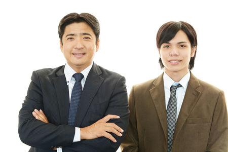 liveliness: Joyful men Stock Photo
