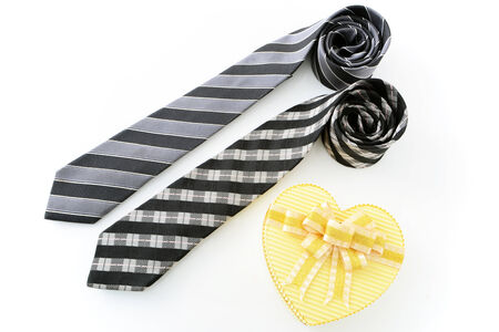 Gift and tie photo