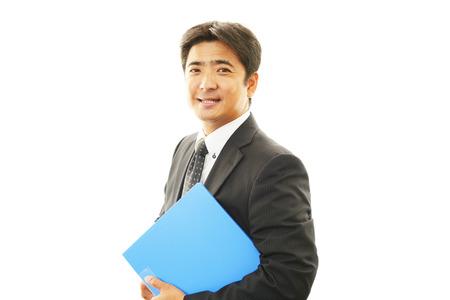 liveliness: Friendly business man