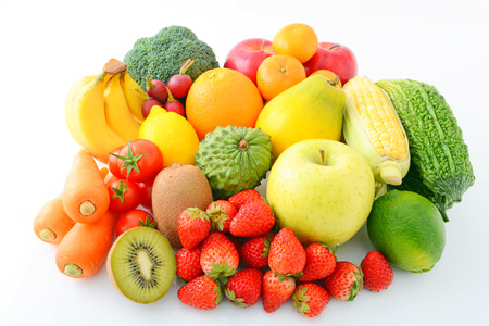 Fresh fruits and vegetable photo