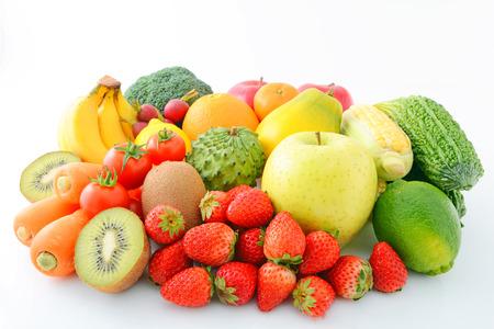 Frisches Obst und Gemüse Standard-Bild - 25354296