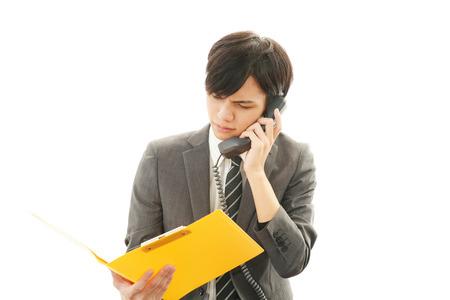 通信: Frustrated Businessman