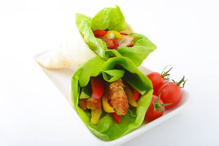Delicious Tortilla wraps photo