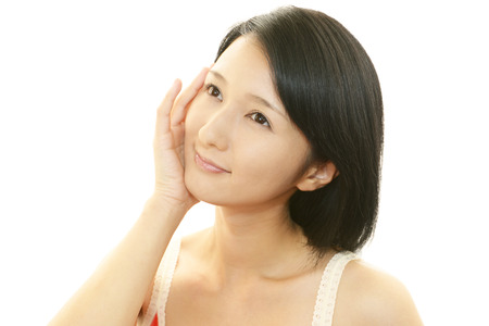 Woman skin care photo