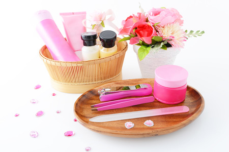 body care cosmetics and tools photo
