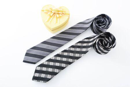 Gift and necktie photo