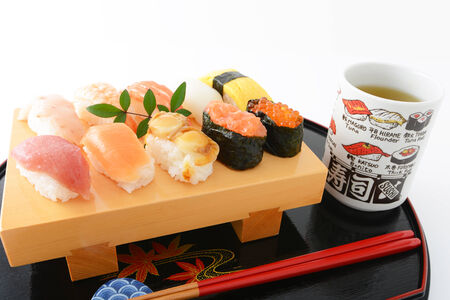 Japanese cuisine Sushi photo