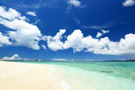 Summertime at the beach Standard-Bild