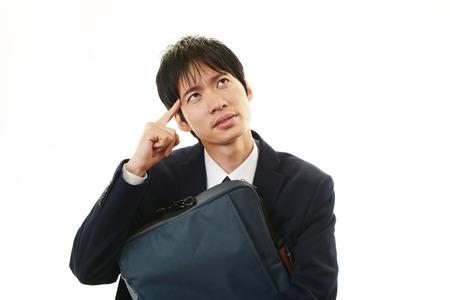 Businessman having a headache  photo