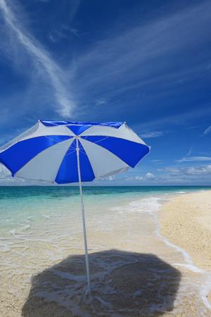 Umbrella at the beach