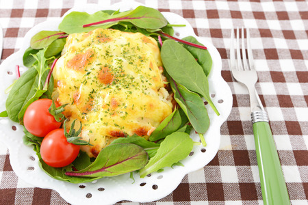 12288;Omelet meal image photo