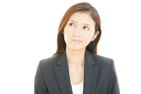 dissatisfied: Dissatisfied business woman