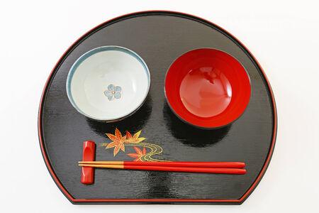 Japanese style tableware photo