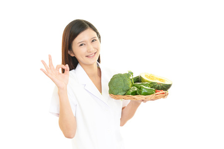 Nutritionist female Doctor photo