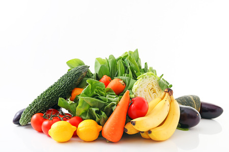 Fresh fruits and vegetables Stock Photo - 42537184