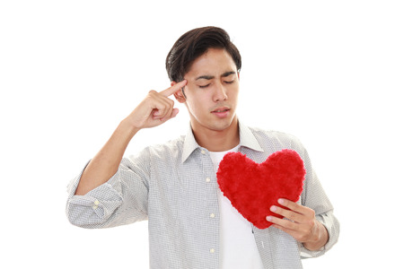heartbreak issues: Man who heartbreak Stock Photo