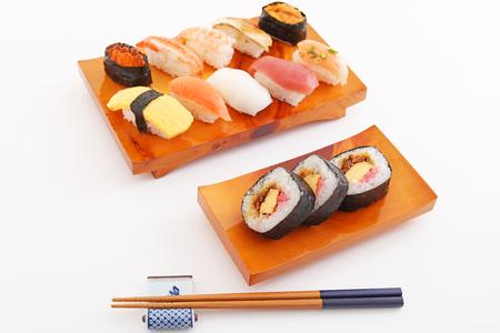 japanese cuisine: Japanese cuisine Sushi Stock Photo