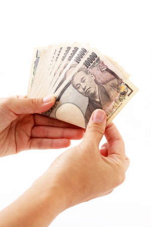ten: Ten thousand yen bills