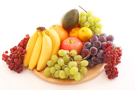 Verse vruchten Stockfoto