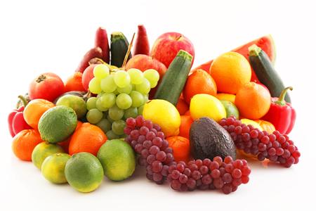 vegetables: Fresh fruits and vegetables