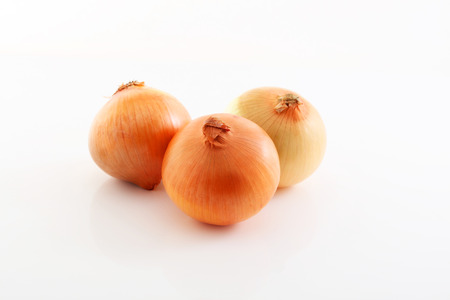 Fresh onions Stock Photo