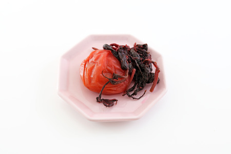 pickled: Japanese food pickled plum