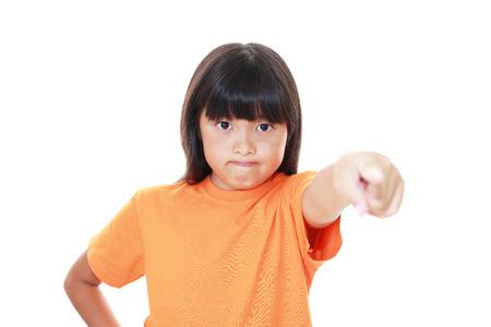 distress: Very Angry girl