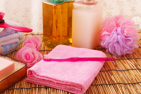 bath: Bath time Stock Photo