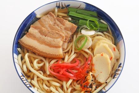 okinawa: Okinawa soba Stock Photo